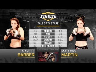 Best of 2017: Maycee Barber & Mallory Martin Battle in the Mile High City at LFA 22