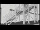 Проектирование производство и монтаж лестниц из металла