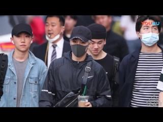 180420 EXO CBX Xiumin Minseok @ Music Bank