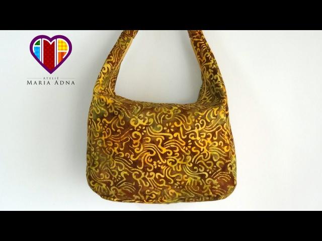 Bolsa de tecido Artemis Fabric bag Make a fabric bag Fabric bag video tutorial Fabric bags