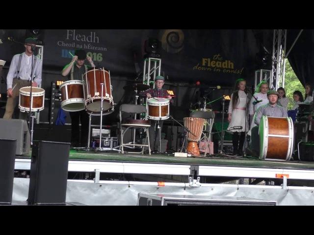 ALL IRELAND FLEADH CHEOIL ENNIS 2016 - HOUNDS OF ULSTER DANCERS PT. 4