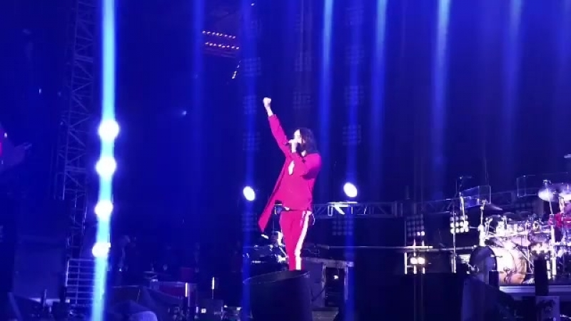 12 05 2018 Выступление 30 Seconds To Mars KROQ WENNIE ROAST Карсон США
