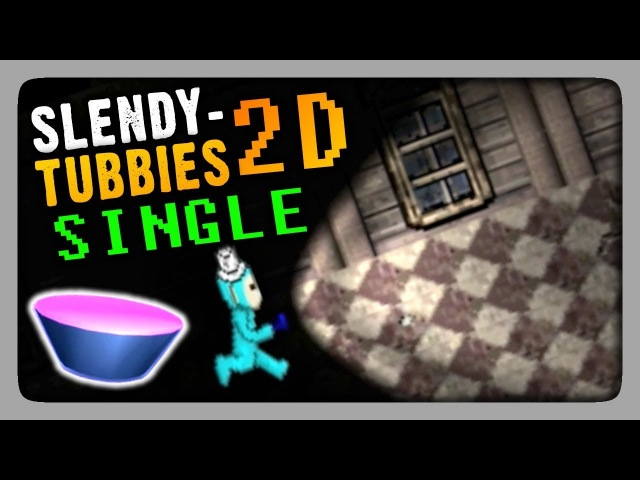 Slendytubbies 2D Single Прохождение Смотрим 2D слендипузиков в сингле 🐨