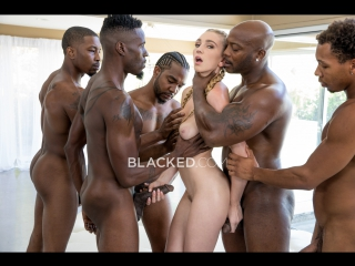 Kendra sunderland orgy, gagbang, blowjob, big tits, natural, interracial