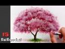 Как нарисовать ДЕРЕВО за 20 минут Очень простая и необычная техника