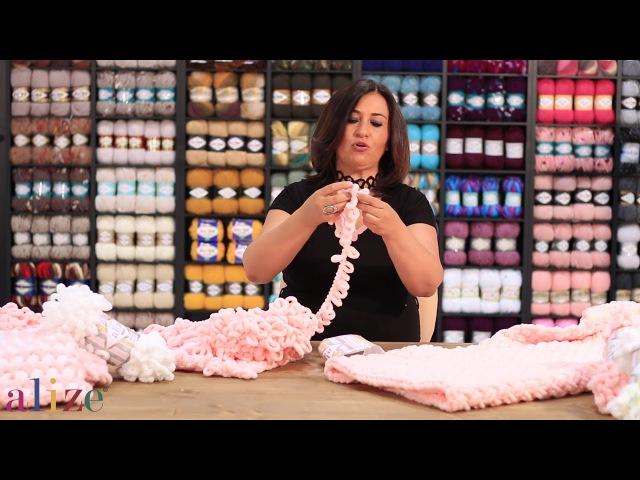 Şiş Yok Tığ Yok Hasır Örgü Tekniği No Needles No Hooks Herringbone Knitting battaniye