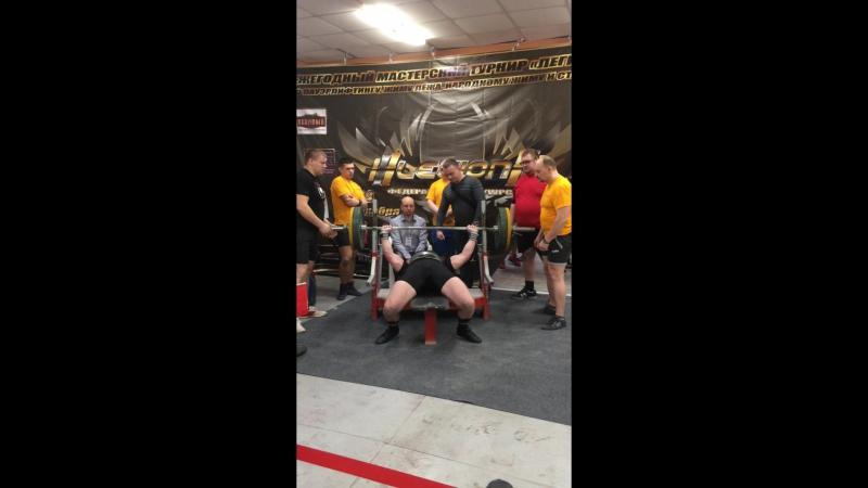 Жигулин Дмитрий жим 160 кг Легион 2017