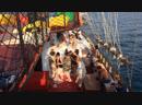 Пенная дискотека на пиратской яхте