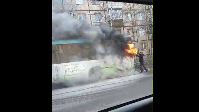 Комментарий МЧС по сгоревшему автобусу в Ижевске