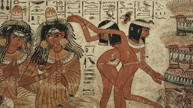 Сокровища Древнего Египта (2) Золотой век (2014) Алистер Сук (док. сериал, история искусства, BBC) HD 720
