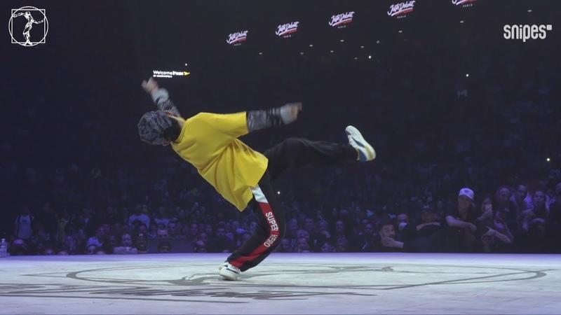 Junior Dance Tour semi final - JusteDebout JusteDebout2019 - JJ vs Tian Tian