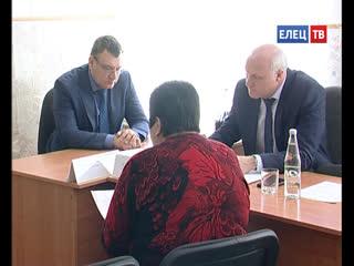 Без помощи не оставили: приём граждан в администрации Ельца провел заместитель главы региона Александр Ильин