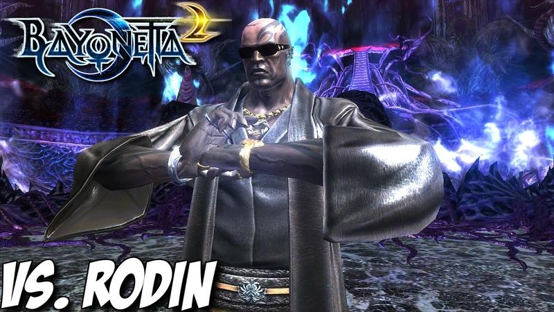 Bayonetta 2 - Bayonetta vs. Rodin (Platinum Ticket) on ∞ Climax - Nintendo Wii U