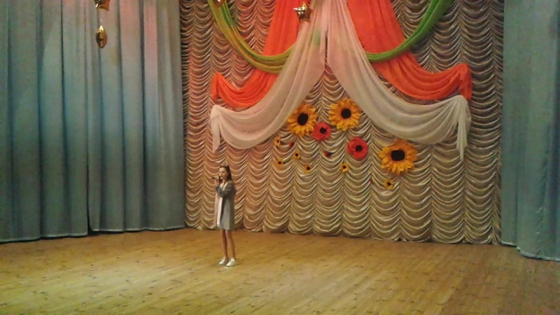 Коротыш Вероника полуфинал Всеукраинского телеконкурса ЗІрки та зіроньки