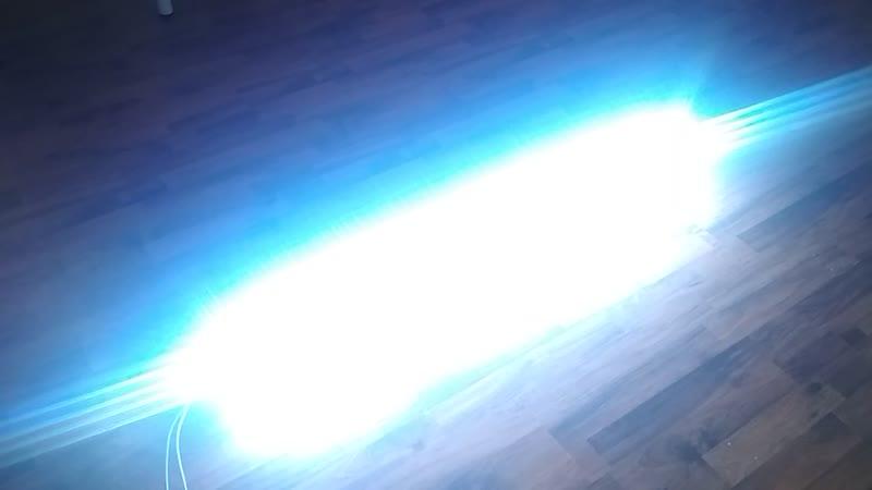Новый диммируемый светильник NEON, на светодиодах Samsung