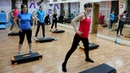 Cardio step with Lyuba Butorova Training to burn calories Кардио степ с Любой Буторовой