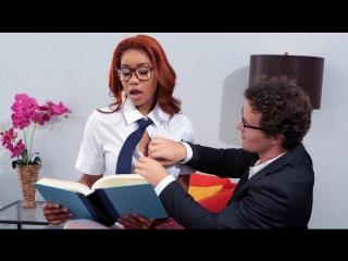 Jenna J Foxx - Banging The Bookworm [Brazzers. HD1080, Big Ass, Big Black Cock, Big Tits, Ebony, Hai