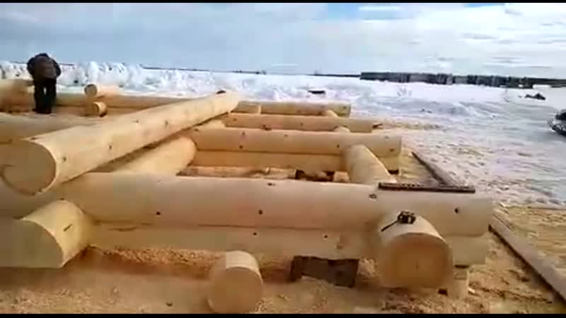 СК Срубы Севера ручная рубка сруб дома для заказчицы из Санкт-Петербурга