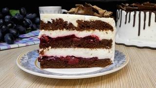 Шоколадный торт с вишней. БЕСПОДОБНЫЙ ТОРТ!
