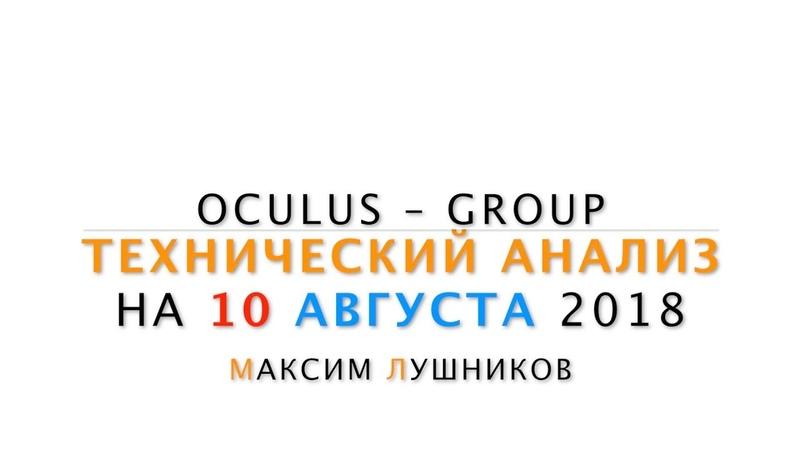 Технический обзор рынка Форекс на 10 08 2018 от Максима Лушникова