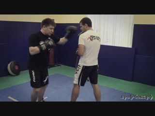 Дистанция в боксе. Урок №6