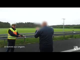 Watch this german police officer deal with gawpers after fatal car crash