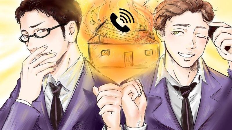 2 Voice Actors - 1 Voice Prank Calls (Kyoya's Ouran High School Host Club)