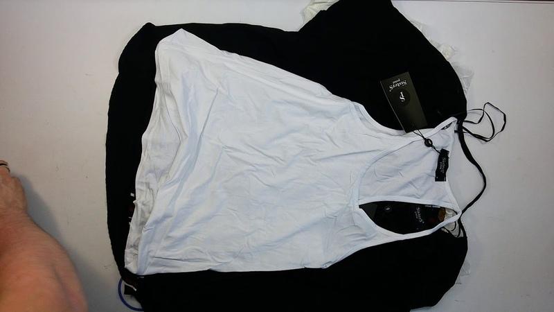 2677 Sisters Point Fransa Vila Ladies Blouses T Shirts 15 PCS брендовые датские женские блузки сток 3 пак