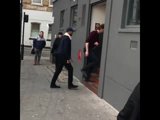 I just met tom hiddleston!!!