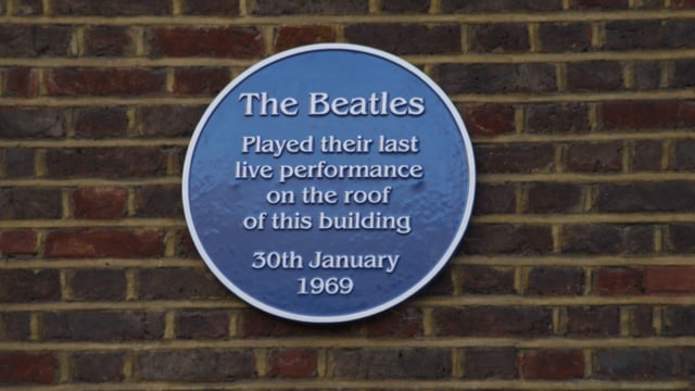 The Beatles - 3 Savile Row - Blue Plaque