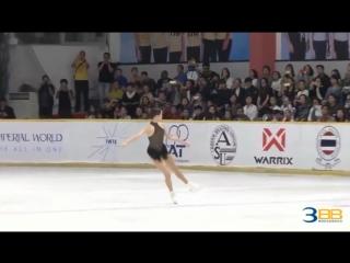 Eunsoo lim. asian open trophy 2018. fs