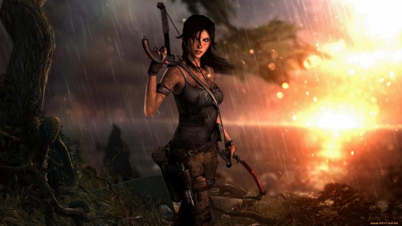 Tomb Raider | 2 Пимико рядом