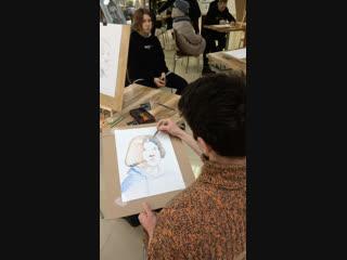 Мастер класс Искусство портрета