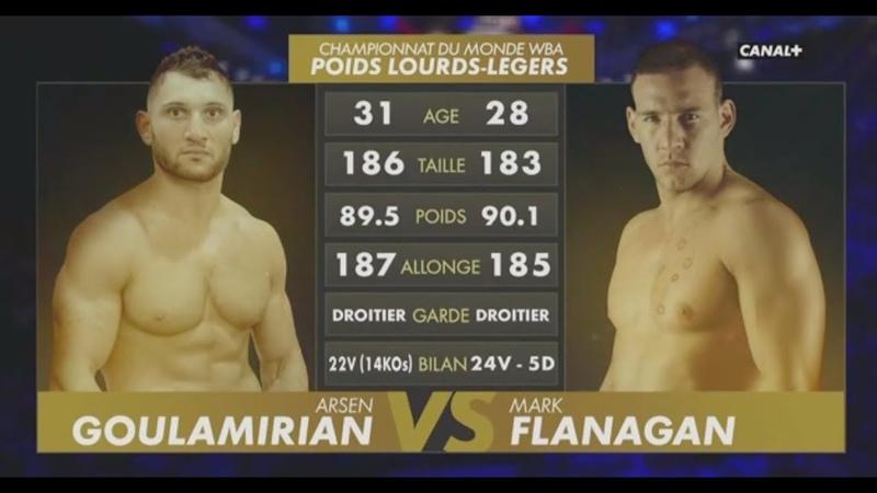Arsen Goulamirian vs Mark Flanagan | Official Full Replay (2018) | WBA Cruiserweight Championship
