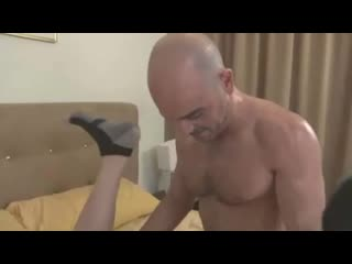 Daddy fucks twink hard and rough