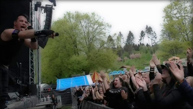 Heldmaschine LIVELAUT Tour Tagebuch diary - Hexentanz Festival