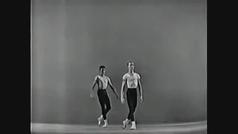 Agon ballet NYCB 1960