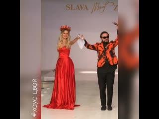 Африкантова стала ведущей на конкурсе красоты в Доме моды Славы Зайцева