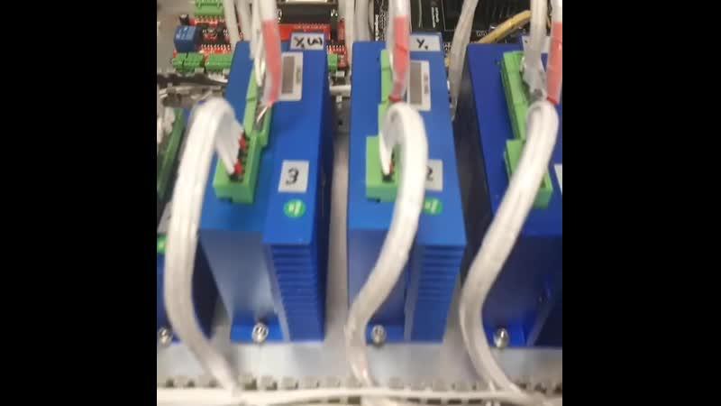 Еще один щит управления ЧПУ фрезера с поворотной осью готов..чпуфрезеровка чпустанок станок станокчпу станкостроение кир