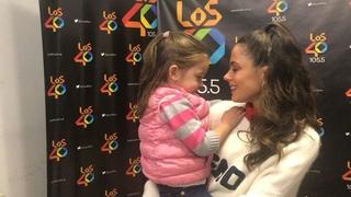 """Juani Martinez on Instagram: """"Se le cumplió el sueño a Matilda. @tinitastoessel le cantó la canción de Frozen y quedó como loca!"""""""
