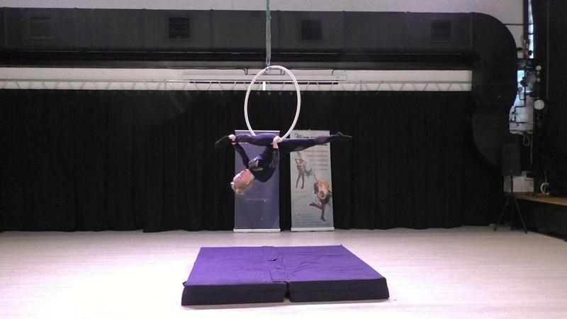 Милана Крестьянскова - Catwalk Dance Fest IX[pole dance, aerial] 30.04.18.