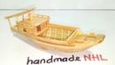 Cách làm thuyền siêu nhỏ từ tre how to make a boat with bambo