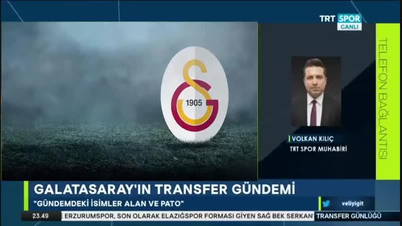 Galatasaray Transfer Günlüğü Trtspor 23 Ocak Alan Pato Tetteh Transferleri