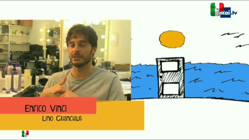 Non dirlo al mio capo - Lino Guanciale: un disegno per la serie