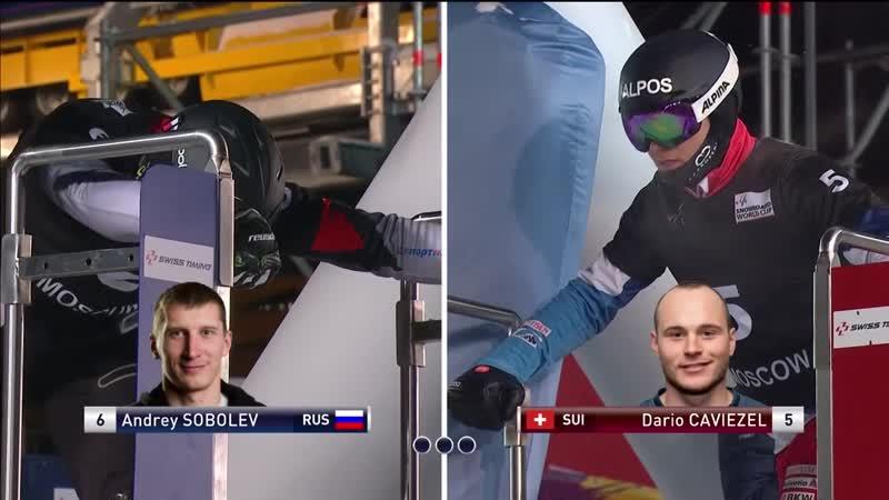 Sobolev vs Caviezel Big Final Moscow Mens PSL FIS Snowboard