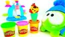 Spielspaß mit OmNom. Wir machen aus PlayDoh kunterbuntes Eis