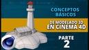 Conceptos básicos de modelado en Cinema4D ::: Parte 2