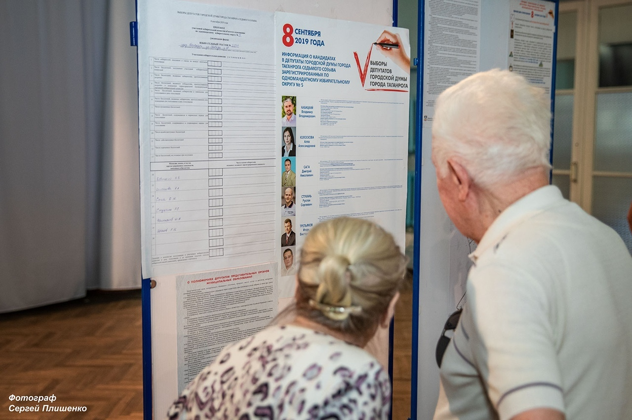 В Таганроге состоялись выборы в Городскую Думу. Известны результаты голосования.