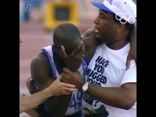 Это произошло на олимпийских играх 1992 года в Барселоне