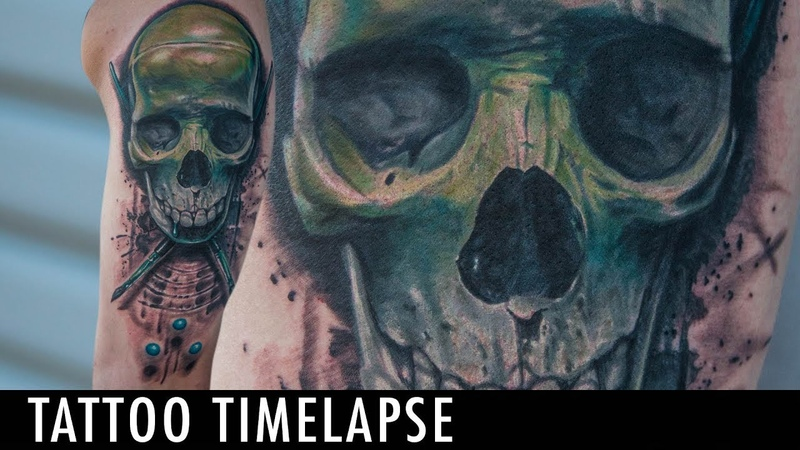 Tattoo Timelapse Dillon Smith James Haun Collab